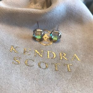Kendra Scott iridescent stud earrings
